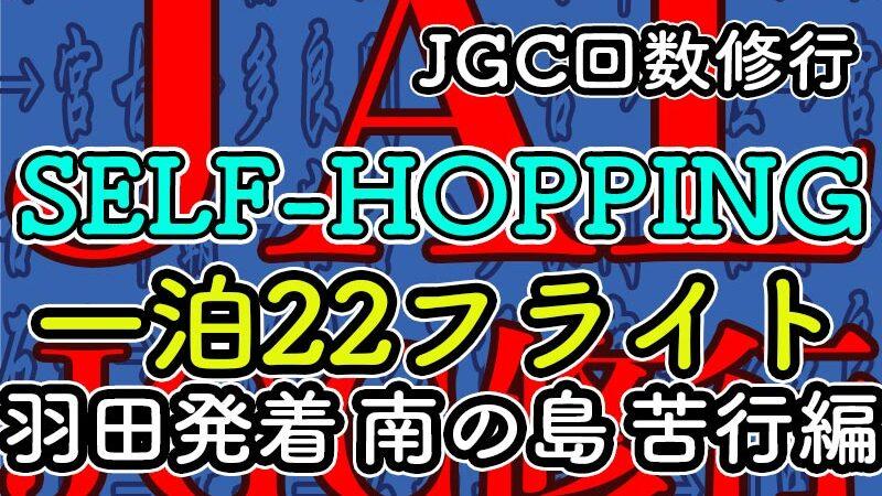JGCセルフホッピング 羽田発着22レグ