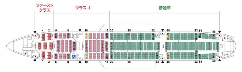 B777-200(777/772)JAL(W16)