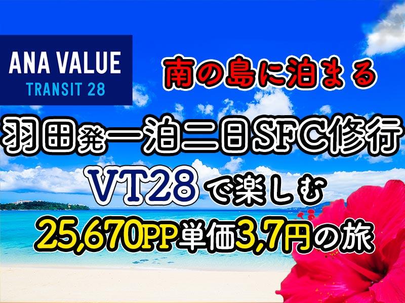 石垣泊VT28SFC修行